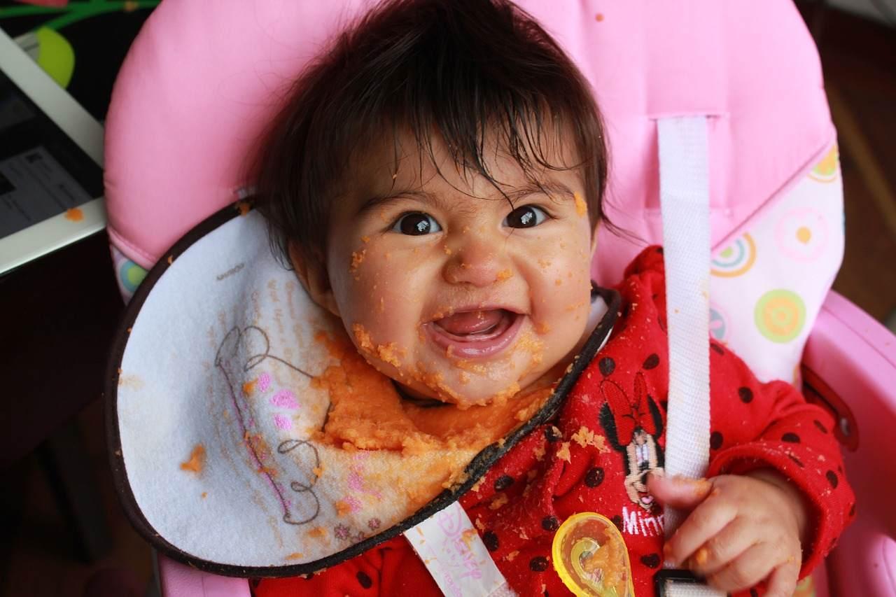 Alimentation bébé à 8 mois